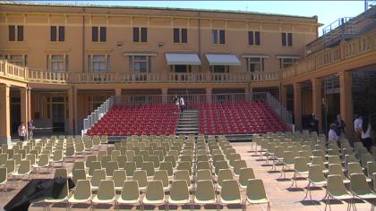 """Riapre la Corte Sant'Arcangelo con lo spettacolo """"Inside the Kitchen"""""""