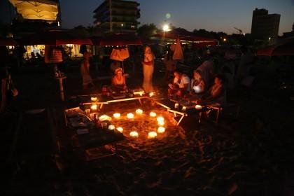 """Rinviata a sabato 13 agosto """"Candele Sotto le Stelle, la notte di San Lorenzo a Pesaro"""""""