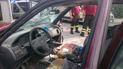 Grave incidente in via Del Domenichino, 70enne in fin di vita