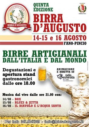 Birra D'Augusto: al Pincio tre giorni all'insegna del gusto e della musica live