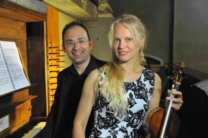 Un concerto con l'inedito accostamento violino e organo