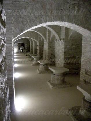 Sotterranei di Sant'Agostino accessibili e visitabili da giugno a settembre