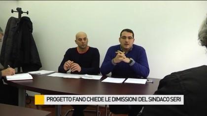 Progetto Fano chiede le dimissioni del sindaco Seri – VIDEO