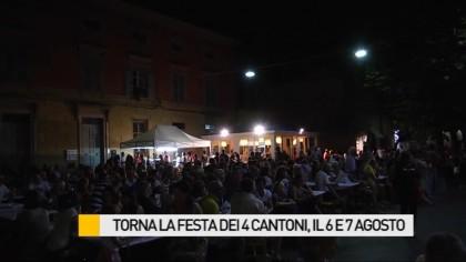 Torna la Festa dei 4 Cantoni, in programma il 6 e 7 agosto – VIDEO