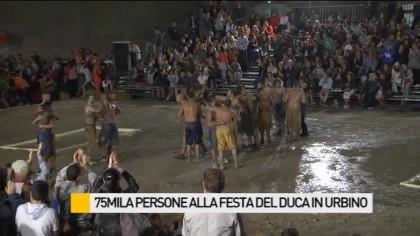 75 mila persone alla Festa del Duca ad Urbino – VIDEO