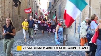 """""""Alba Rossa"""" per 71 esimo anniversario della liberazione di Fano – VIDEO"""