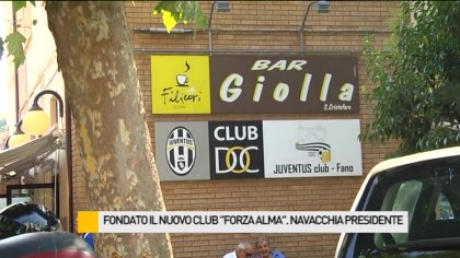 """Fondato il nuovo Club """"Forza Alma"""". Navacchia presidente – VIDEO"""