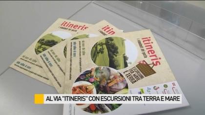"""Al via """"Itineris"""" con escursioni tra terra e mare – VIDEO"""