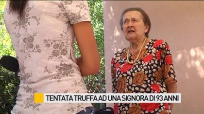 Tentata truffa ad una signora di 93 anni – VIDEO
