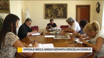 Ospedale unico, il sindaco Seri invita Ceriscioli in consiglio comunale – VIDEO