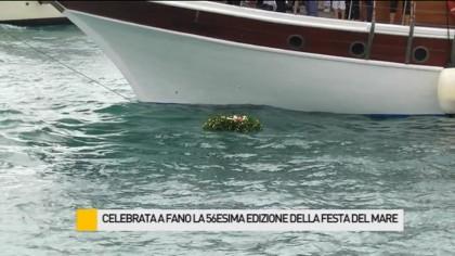 Celebrata a Fano la 56esima edizione della Festa del Mare – VIDEO