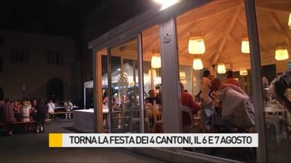 Torna la Festa dei 4 Cantoni, il 6 e 7 agosto – VIDEO