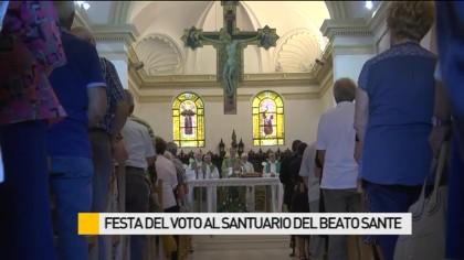 Festa del Voto al Santuario del Beato Sante – VIDEO