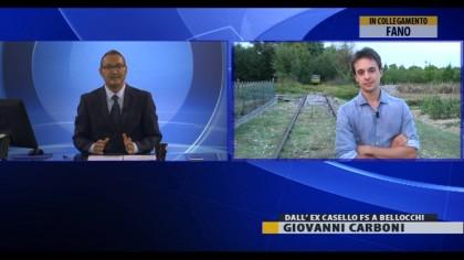 Ex ferrovia  Fano-Urbino, visita del Direttore della Fondazione FS – VIDEO
