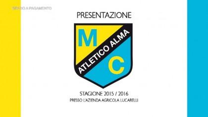 Presentazione Atletico Alma stagione 2015/2016