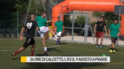 30 ore di calcetto, l'8 e il 9 agosto a Piagge – VIDEO