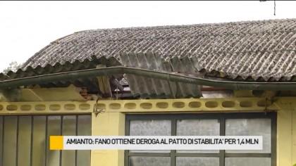 Amianto: Fano ottiene una deroga al Patto stabilità per 1,4 mln di euro – VIDEO