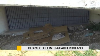 Degrado dell'interquartieri di Fano – VIDEO