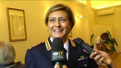 Emanuela Canestrini è la nuova dirigente della Squadra Volanti – VIDEO