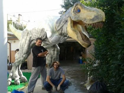 I dinosauri invadono l'aeroporto di Fano (da venerdì a domenica)