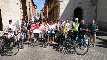 """3260 ciclisti all'iniziativa di FOR.BICI che rilancia: """"Pedonalizzare il centro si può"""""""