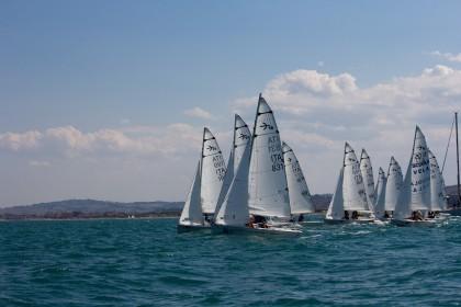 L'equipaggio del Circolo Velico Savio è Campione Italiano della Classe Velica Tridenti 16