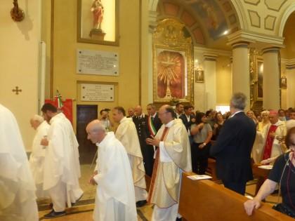 Inaugurata la Chiesa di San Pellegrino, grande partecipazione alla Santa Messa Solenne