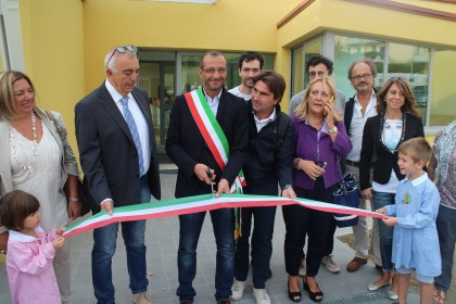 Inaugurata la scuola dell'infanzia di Borgo Santa Maria