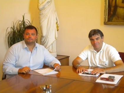 Il sindaco Seri riceve il consigliere regionale Mirco Carloni