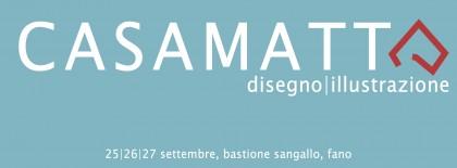 """""""Casamatta"""", Mini-Festival di Disegno ed Illustrazione al Bastione Sangallo"""