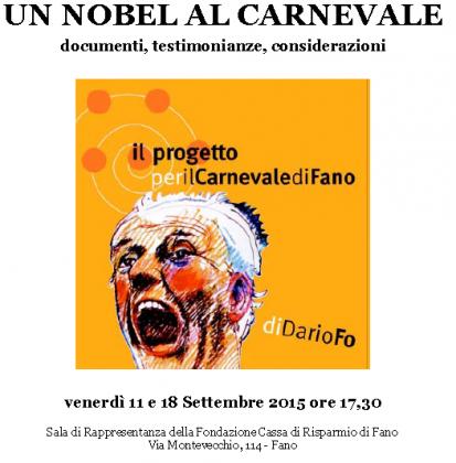 Il ritorno di Dario Fo al Carnevale di Fano