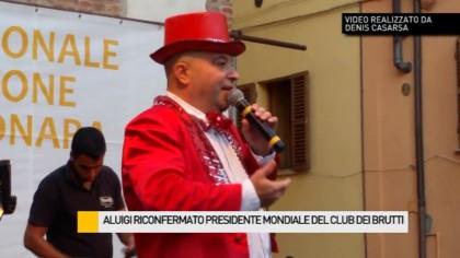 Aluigi riconfermato presidente mondiale del Club dei Brutti – VIDEO