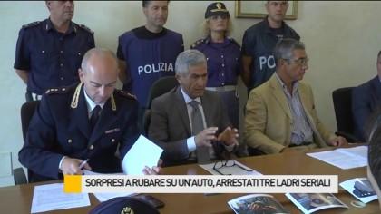 """Operazione """"Segugio"""": arrestati tre ladri seriali – VIDEO"""