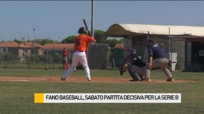 Fano Baseball, sabato partita decisiva per la Serie B – VIDEO