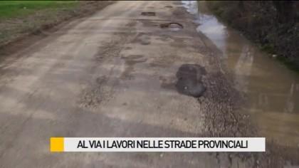 Al via i lavori nelle strade provinciali – VIDEO