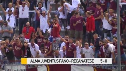 Alma Juventus Fano – Recanatese 5-0, gli highlights  – VIDEO