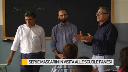 """Inizio scuole, sindaco Seri: """"Vivete con entusiasmo la vita scolastica"""" – VIDEO"""