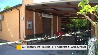 Artigiani sfrattati da sede storica a San Lazzaro – VIDEO