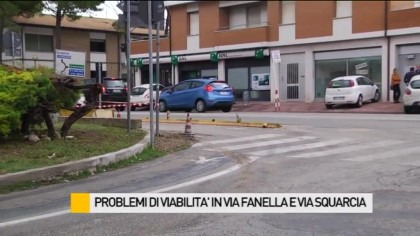 Problemi di viabilità in via Fanella e via Squarcia – VIDEO