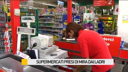Supermercati presi di mira dai ladri – VIDEO