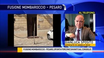 Fusione Mombaroccio – Pesaro, spunta un forcone davanti al Comune – VIDEO