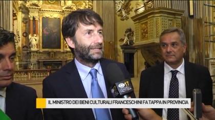 Il Ministro dei Beni culturali Dario Franceschini in Provincia – VIDEO