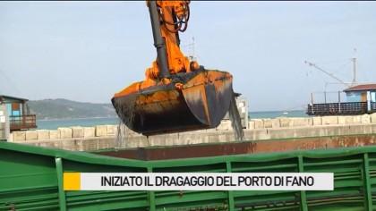 Al via il dragaggio al porto di Fano – VIDEO