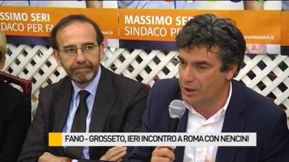 Fano – Grosseto, soddisfazione del sindaco Seri – VIDEO