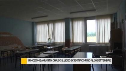 Rimozione amianto, chiuso il Liceo Scientifico fino al 20 settembre – VIDEO