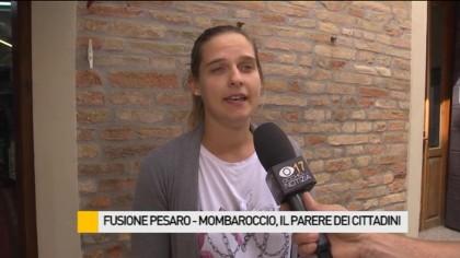 Fusione Pesaro-Mombaroccio, il parere dei cittadini – VIDEO