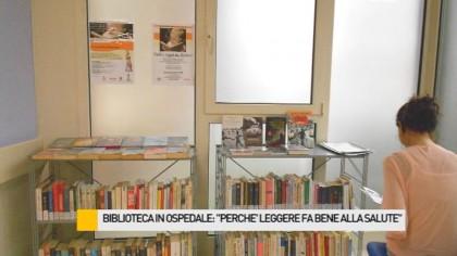 """Biblioteca in ospedale, il servizio arriva a Fano: """"Perché leggere fa bene alla salute"""" – VIDEO"""