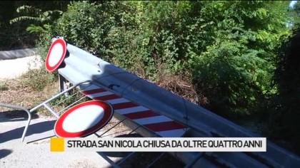 Strada San Nicola chiusa da oltre quattro anni – VIDEO