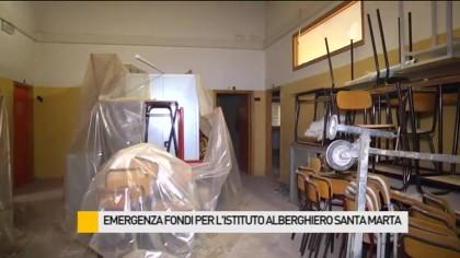 Emergenza al Santa Marta, ecco le aule scolastiche – VIDEO