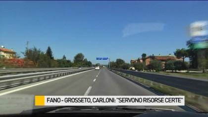 """Fano – Grosseto, Carloni: """"Servono risorse certe"""" – VIDEO"""